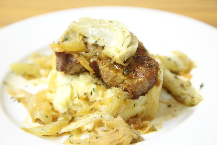 More like this: braised pork , fennel and pork chops .