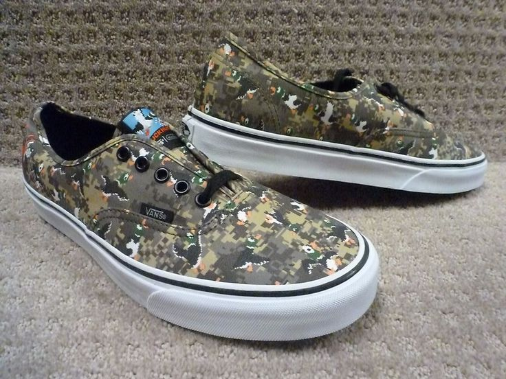 "Vans Men's Shoes ""Authentic"" -- (Nintendo) Duck Hunt/Camo #VANS #AthleticSneakers"