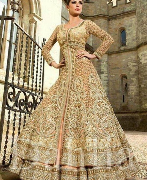 Wedding dress for Indian/Pakistani Bride.  #wedding #bridaldress                       See more at Pinterest #@snapchamp