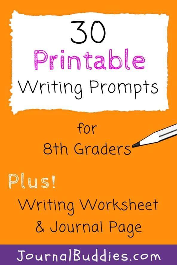 8th Grade Writing Worksheets Writing Worksheets 8th Grade Writing Printable Writing Prompts 8th grade writing worksheets
