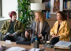 Lesmap bij de speelfilm 'Three generations'.