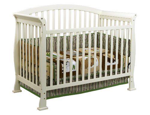 DaVinci Thompson 4 in 1 Crib with Toddler Rail, White