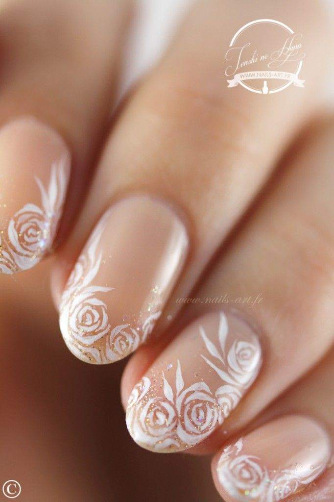 Ongles mariages - French manucure mariage ...