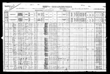 George Zettel discovered in 1911 Census of Canada