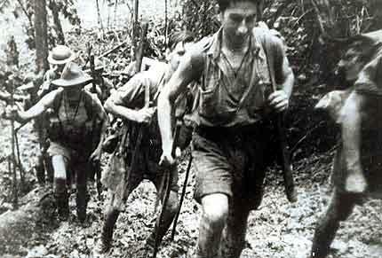 Australian Soldiers on the Kokoda Track 1943