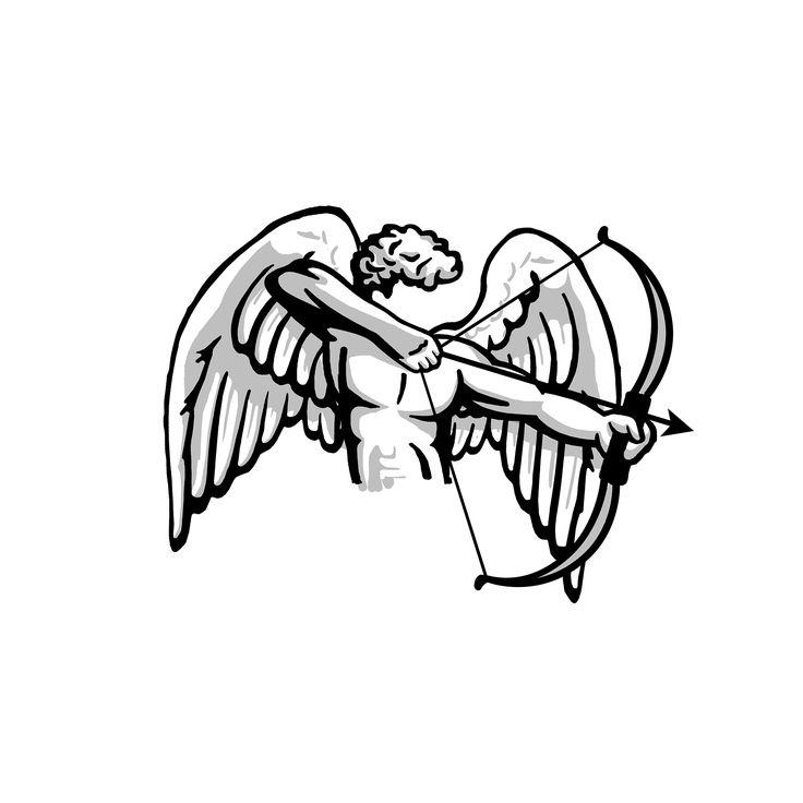 #Boceto #Sketch #Logo #Branding #Cupido #Cherub #Graphicart #Illustration # Studiodesign #Estudiodediseño #Estudioexpreso