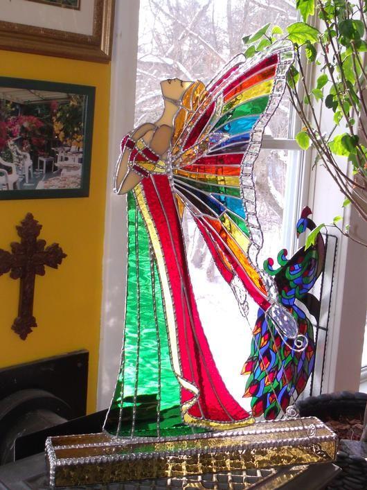 AmberLyn's Rainbow Angel - Delphi Artist Gallery