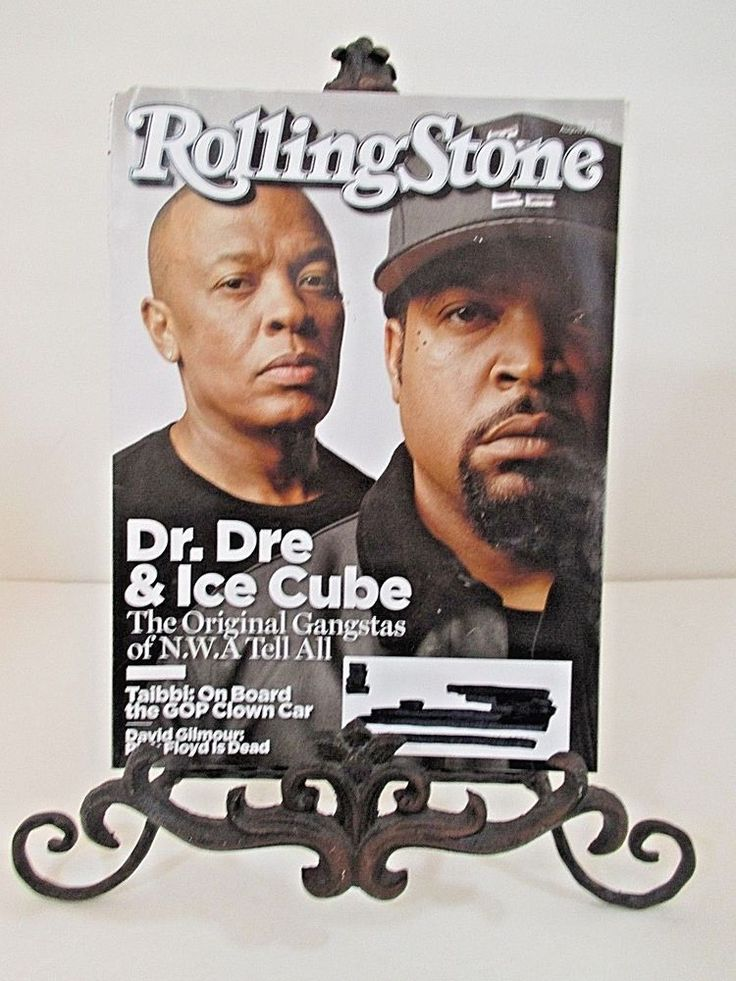 Rolling Stone Magazine Back Issue 1242 August 27, 2015 Dr. Dre & Ice Cube Taibbi