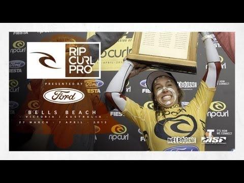 Women's Bell Ringing Frenzy - Rip Curl Pro Bells Beach 2013