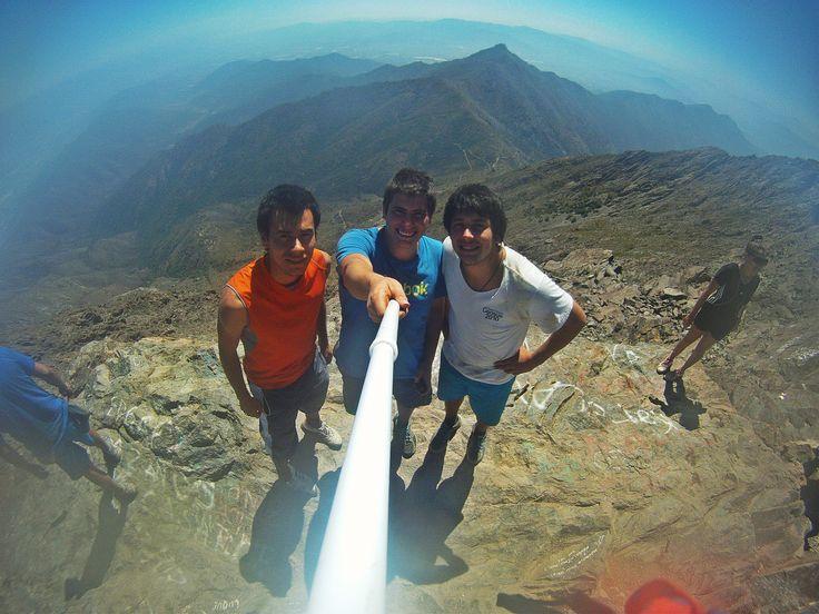 Cumbre cerro La Campana, Olmue Chile