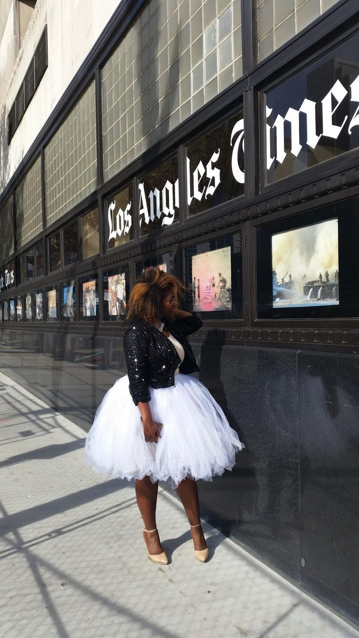 Plus Size Tutu - Plus Size Fashion for Women - In My Joi: Glammed Up: Tulle Can Do No Wrong