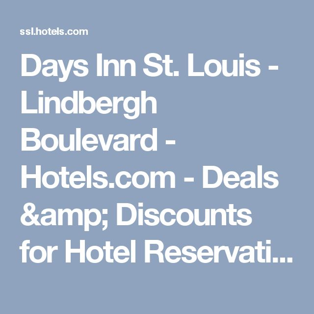 Days Inn St. Louis - Lindbergh Boulevard - Hotels.com - Deals & Discounts for Hotel Reservations from Luxury Hotels to Budget Accommodations