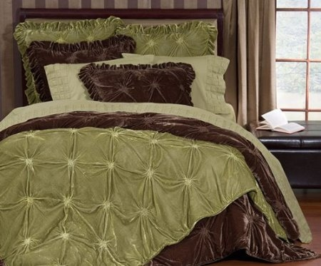 Amazon Com Empress Silk Velvet Quilt Sets King