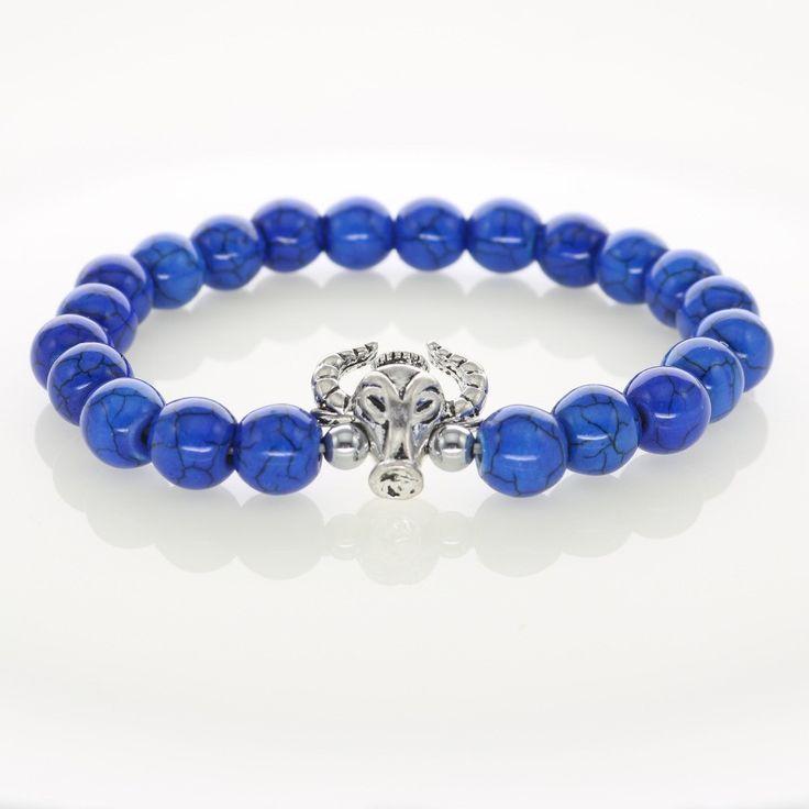 Toro Luna Silver Natural Blue Turquoise Stones Bracelet