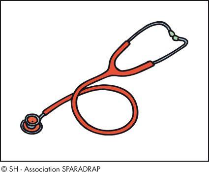 Stéthoscope / S / Par ordre alphabétique / Le dico de la santé / Enfants / Accueil - Sparadrap