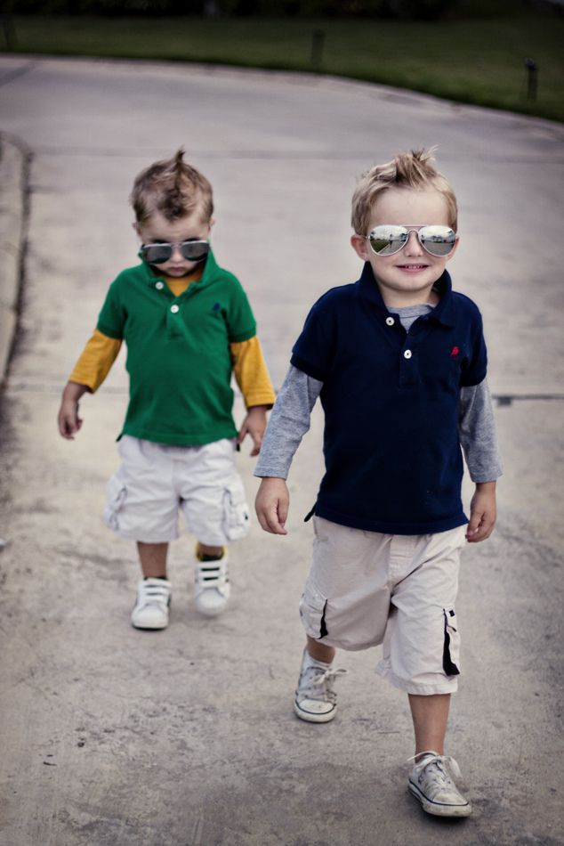 little boys - oh my!gangsters totz adorbs