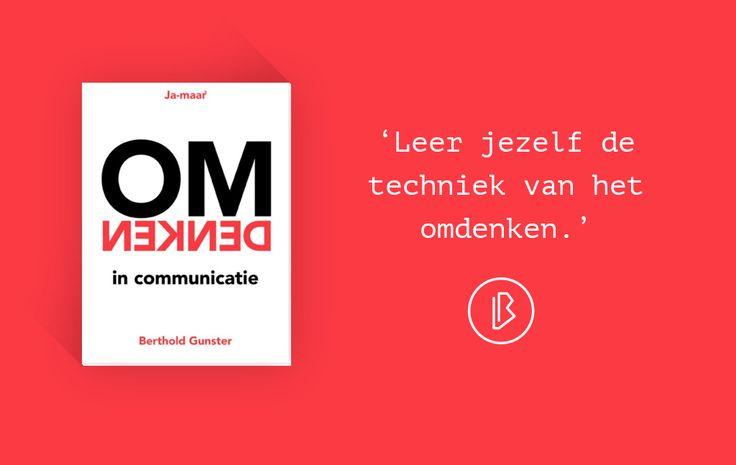 Recensie: Berthold Gunster – Omdenken in communicatie