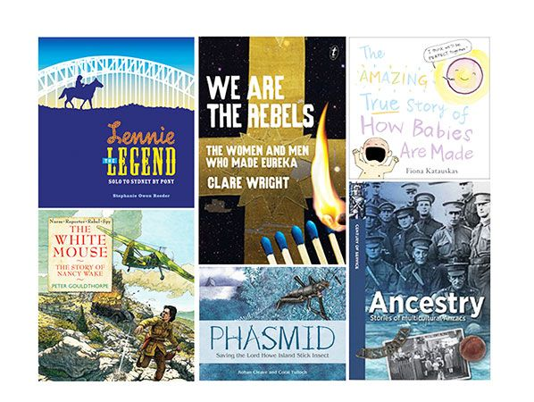 2016 Book of the Year Shortlist: The Eve Pownall Award for Information Books