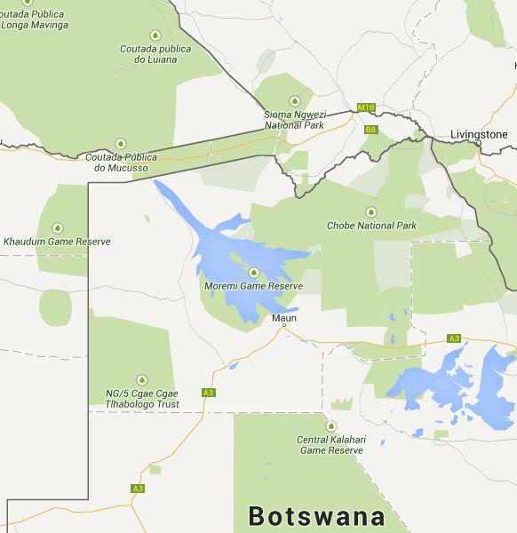 Alle Safari Lodges und Camps im Okavangodelta auf einen Blick