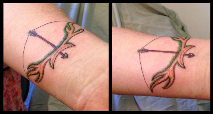 #bow #arrow #tattoo #tattoos #ideas #designs #men #formen #menstattooideas