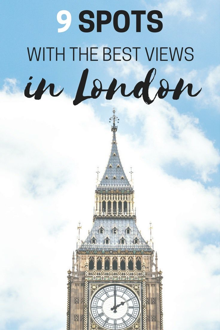 Are you looking for the best spots to admire the London skyline? I've got you covered. Here are 9 of my favourite places with the best views of London.