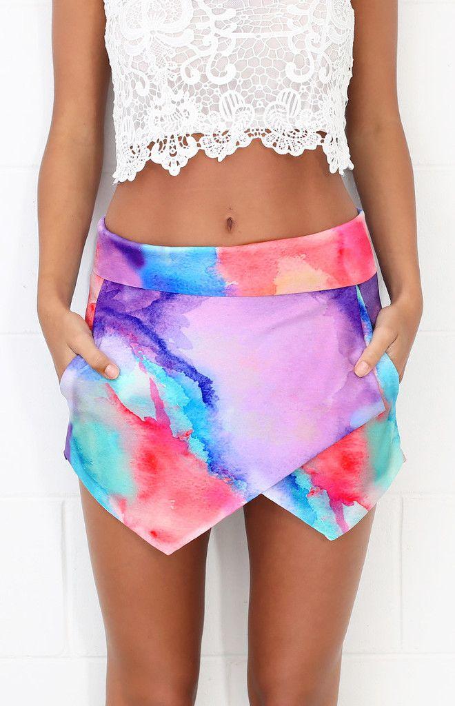 Dreamer Skort Tie Dye | Beginning Boutique