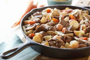 Steak and Potato Stir-Fry recipe: Steak And Potatoes Recipe, Easy And Quick Dinner Recipes, Potatoes Stir Fries, Quick Potatoes, Potatoes Stirfry, Easy Steak And Potatoes, Meat And Potatoes Recipe, Healthy Living Recipes, Steak And Potatoes Stir Fryand