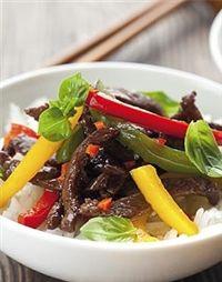 Weigh-Less Online - Sweet Chilli Beef Stir Fry