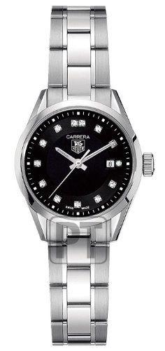 TAG Heuer Women's WV1410.BA0793 Carrera Diamond Watch (in case I don't get mine back)