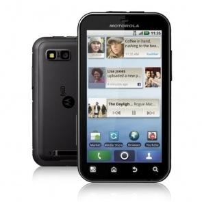 Motorola Defy + Black
