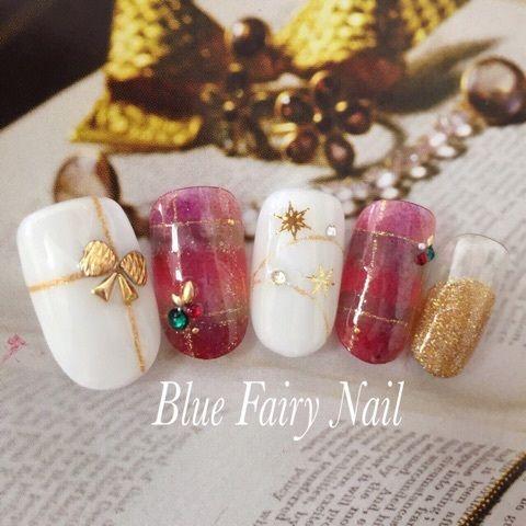 クリスマスに間に合うっ! の画像 吹田市 千里丘 ネイルサロン Blue Fairy Nail
