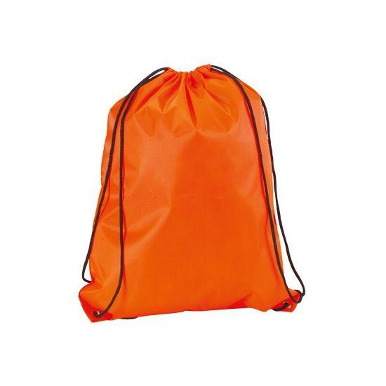 Neon oranje gymtasje  Neon oranje gymtas met rijgkoord. Een leuke fel oranje gekleurde gymtas voorzien van een rijgkoord. Afmeting gymtassen: 34 x 42 cm.  EUR 3.25  Meer informatie