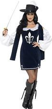 Lady Arina Musketier Kostüm für Damen NEU