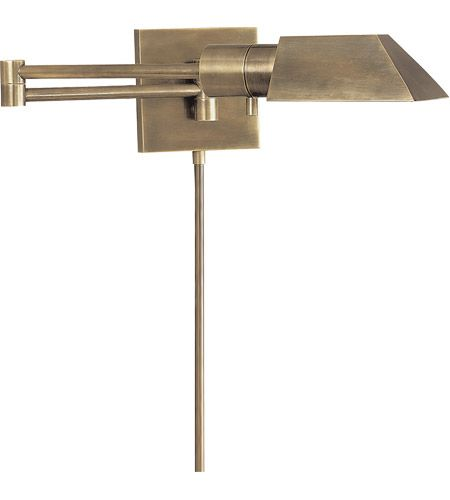 Visual Comfort 82034AN Studio 24 inch 40 watt Antique Nickel Swing-Arm Wall Sconce Wall Light photo