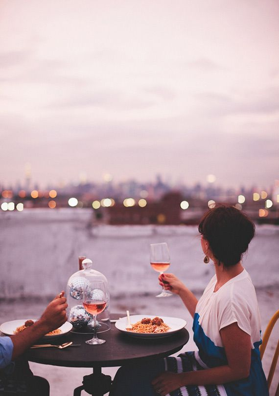 A date in the city | photo by First Mate Photo Co | 100 Layer Cake