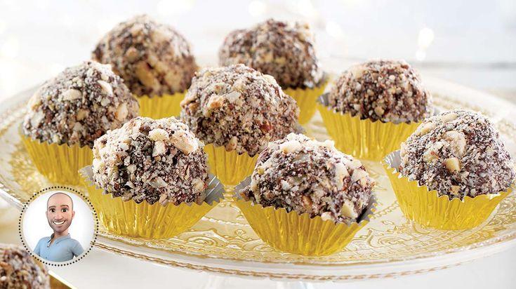 Bacis de noël (boules de chocolat)