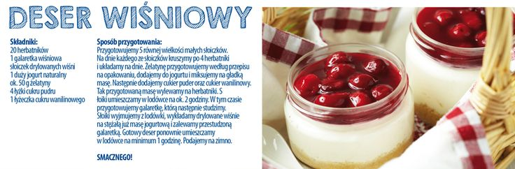 Deser wiśniowy