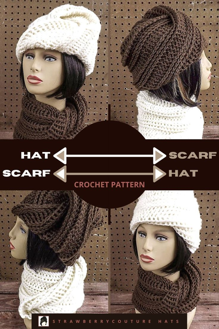 Crochet Patterns For Women Deitra Scoodie Crochet Pattern Doubles As A Hat And Scarf Ear Warmers Pattern Hat Scarf Combo Pattern Crochet Hat Scarf Combo Pattern Crochet