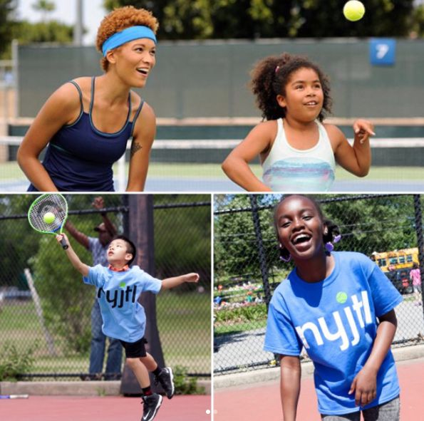 As a youth I had the opportunity to attend Tennis Camp during summers @usta National Tennis 🎾 Center so as the Chairwoman of @cushcenter I am honored 🌟to support @tnnskids @usta and the youth tennis programs supported by @usopen 🎾which serve to get our students active and involved with tennis in their communities!  ✨ @cushcenter would like to thank Ms. Katrina Adams, Chairwoman, CEO and President of @usta for her support and say thank you to her team for their efforts with their programs,