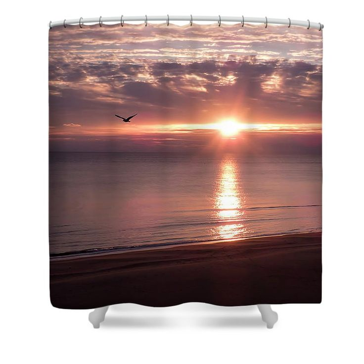 "Wanderlust Shower Curtain by Leslie Montgomery.  This shower curtain is made from 100% polyester fabric and includes 12 holes at the top of the curtain for simple hanging.  The total dimensions of the shower curtain are 71"" wide x 74"" tall."