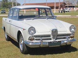 Alfa Romeo JK 1960  A sigla JK, foi uma homenagem ao Presidente da República, Juscelino Kubtschek