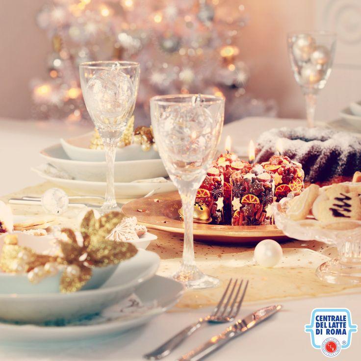 Decorazione della tavola di Natale, Christmas table decoration