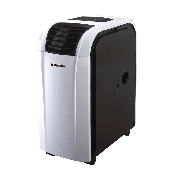The Dimplex 3.5kW Reverse Cycle Portable Air Conditioner with Dehumidifier will keep you comfy year round. Our DC12RCBW in black and white finish guarantees cooling in temperatures up to 43 ºC outside. And it will keep you warm and toasty during Winter too!