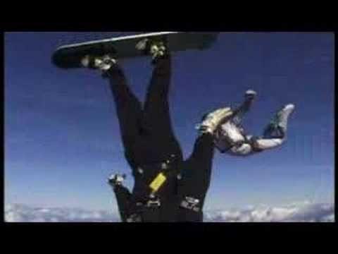 Extreme Ironing Skysurf - something for the weekend