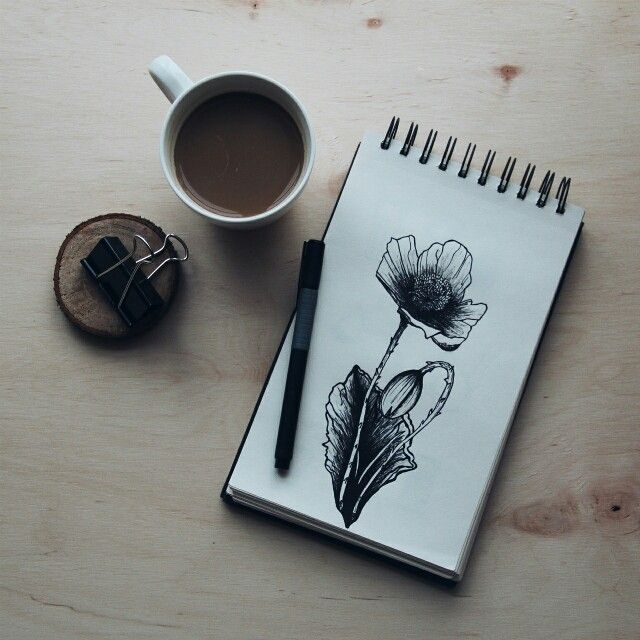 Some coffee and some art