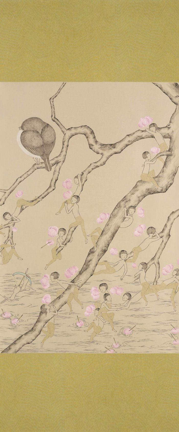 Leung Ka Yin - talking plums (detail)