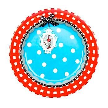 Cake Plate Studio Koekepeer - www.lotsofballoons.com