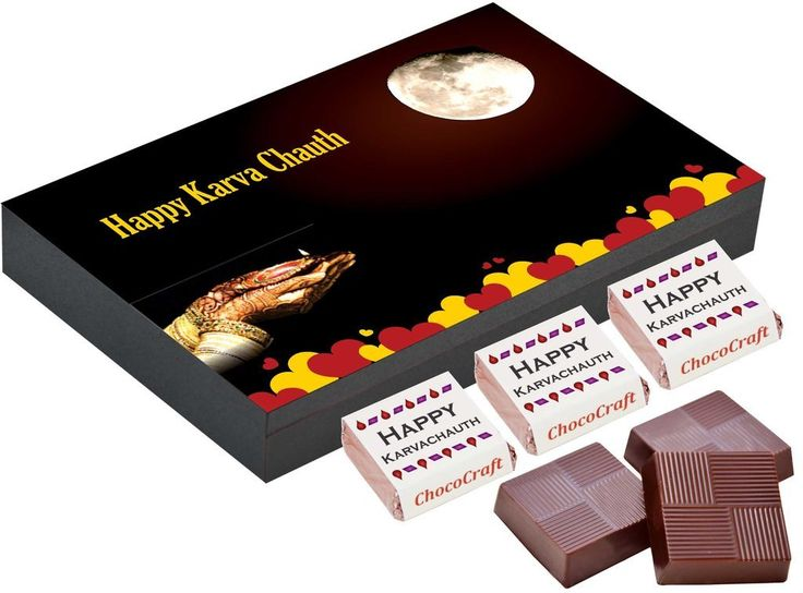 Karvachauth gifts online   Gift chocolate box online