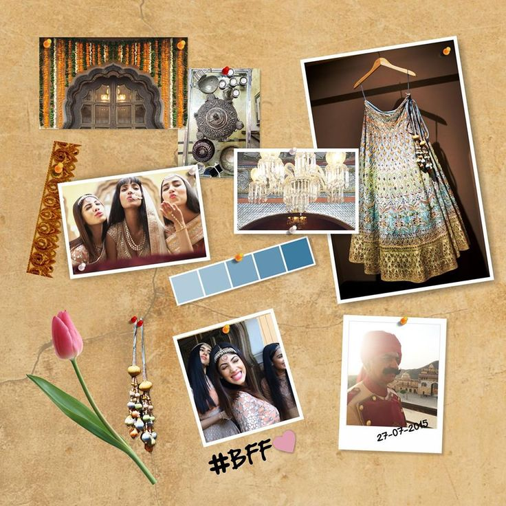 Getting Married? Every bride has a dream wedding pinboard. Here's what our muse, Nayantara has to show you… #HeartfeltDesires #TheWeddingDiaries #WeddingInspiration #gotapatti #Rajasthan #Jaipur #Bride
