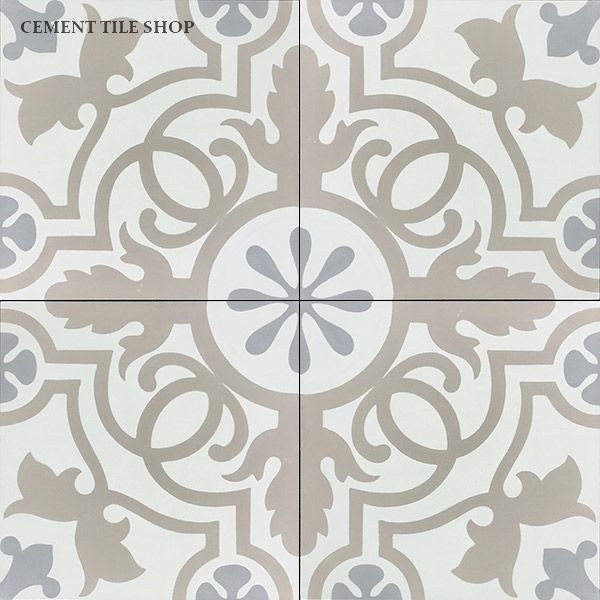 Kitchen Backsplashes With Cement Patterned Tiles